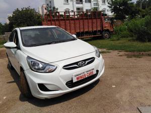 Hyundai Verna Fluidic 1.6 CRDI SX (2012) in Hyderabad