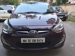 Hyundai Verna Fluidic 1.6 CRDi SX AT (2013) in Mumbai
