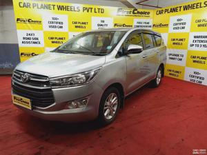 Toyota Innova Crysta 2.8 GX AT 8 Str (2017)