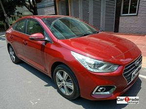 Hyundai Verna Fluidic 1.6 CRDI SX Opt AT (2017) in Bangalore