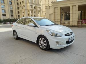 Hyundai Verna Fluidic 1.6 CRDI SX Opt AT (2013) in Thane