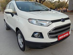 Ford EcoSport 1.0 Eco Boost Trend Plus (MT) Petrol Black Edition (2016) in Ahmedabad