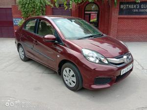 Honda Amaze S MT Petrol (Opt) (2018)