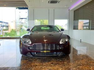Aston Martin V8 Vantage S Coupe (2012) in New Delhi