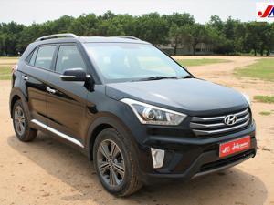 Hyundai Creta SX+ 1.6 U2 VGT CRDI AT (2016) in Ahmedabad