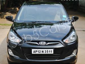 Hyundai Verna Fluidic 1.6 VTVT SX Opt (2013) in Hyderabad