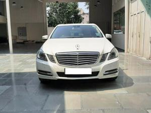 Mercedes Benz E Class E220 CDI Blue Efficiency (2012)