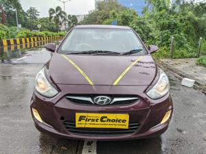 Hyundai Verna Fluidic 1.6 VTVT SX AT (2013) in Mumbai