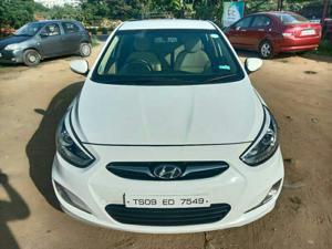 Hyundai Verna Fluidic 1.6 CRDi SX AT (2014) in Hyderabad