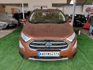 Ford EcoSport 1.5 TDCi Titanium (MT) Diesel (2018)