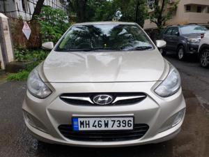 Hyundai Verna Fluidic 1.6 CRDI SX Opt AT (2013) in Mumbai