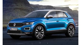 Volkswagen reveals the all-new T-Roc crossover