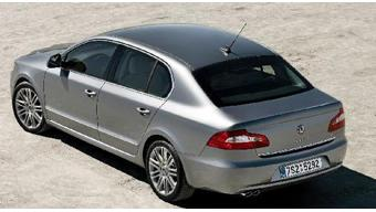Skoda Superb Old