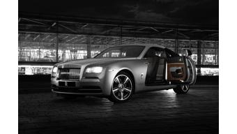 2015 New York Auto Show - Rolls-Royce Wraith 'Inspired by Film' to be unveiled today