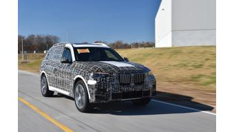 BMW begins assembly of pre-production India-bound X7