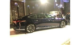 Lexus LS 500h launch picture gallery