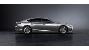 Lexus showcases updated LS sedan