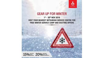Mitsubishi's winter service camp to go on till Nov 30