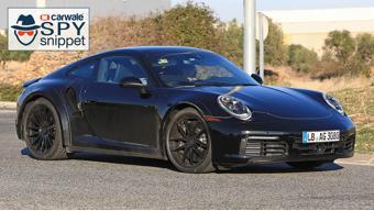 Porsche spotted testing new-gen 911 Turbo
