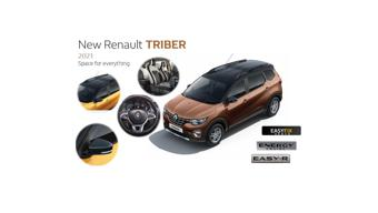 2021 Renault Triber leaked; likely to be launched in India soon