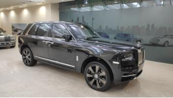 Camouflaged Rolls-Royce Cullinan SUV spotted