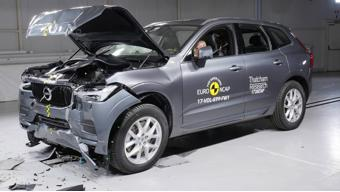 Volvo XC60 scores highest safety rating at Euro NCAP