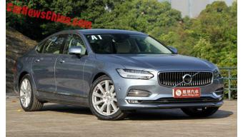 Volvo launches S90 long wheelbase version in China