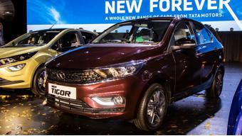 Tata Tigor EV Facelift