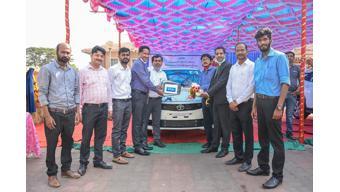 Tata Motors delivers Tigor EVs to DNRE, Goa