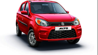 Maruti Suzuki Alto surpasses the 40 lakh unit sales milestone in India