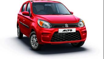 Maruti Suzuki Alto surpasses the 40 lakh unit sales milestone in India