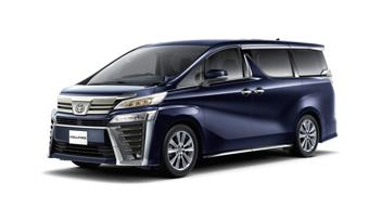 Toyota unveils Vellfire Golden Eyes and Alphard Type Gold in Japan