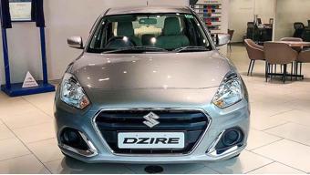 Maruti Suzuki Dzire VXI spied with new infotainment system