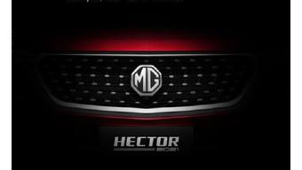 MG Hector facelift teased ahead of official launch