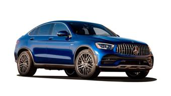 Mercedes Benz AMG GLC 43 Coupe Images