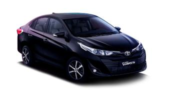 Toyota Yaris Black Limited Edition Image