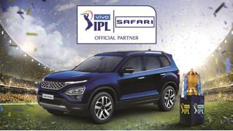 The all-new Tata Safari named as the official partner for VIVO IPL 2021