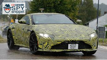 New Aston Martin Vantage spied in Germany