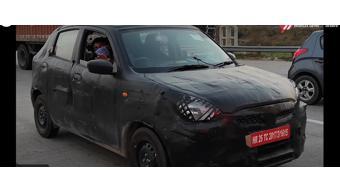 2021 Maruti Suzuki Celerio spotted testing on Indian roads