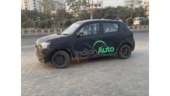 New Maruti Suzuki Celerio spied testing in India