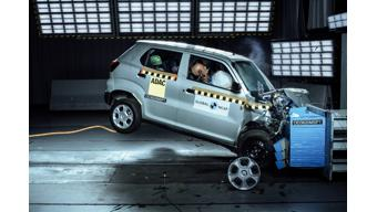 Maruti's S-Presso gets zero star rating in GNCAP crash test