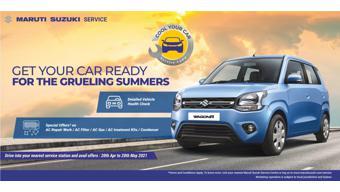 Maruti Suzuki announces service camp from 20 April to 20 May, 2021