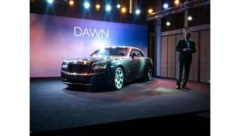 Rolls-Royce launches Dawn convertible at Rs 6.25 crore