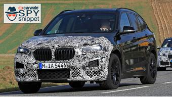 Facelifted India bound BMW X1 spotted on test in Germany