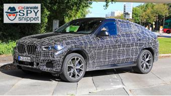 India-bound 2020 BMW X6 spied