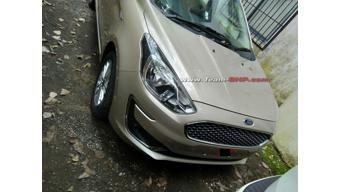 Ford Aspire facelift spied sans camouflage ahead of launch