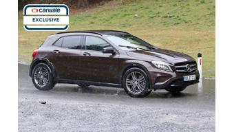 Mercedes-Benz GLB spotted on test