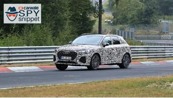 2019 Audi RSQ3 spotted testing at the Nurburgring