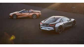 2018 BMW i8 coupe unveiled