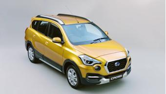 Datsun unveils Cross crossover in Indonesia